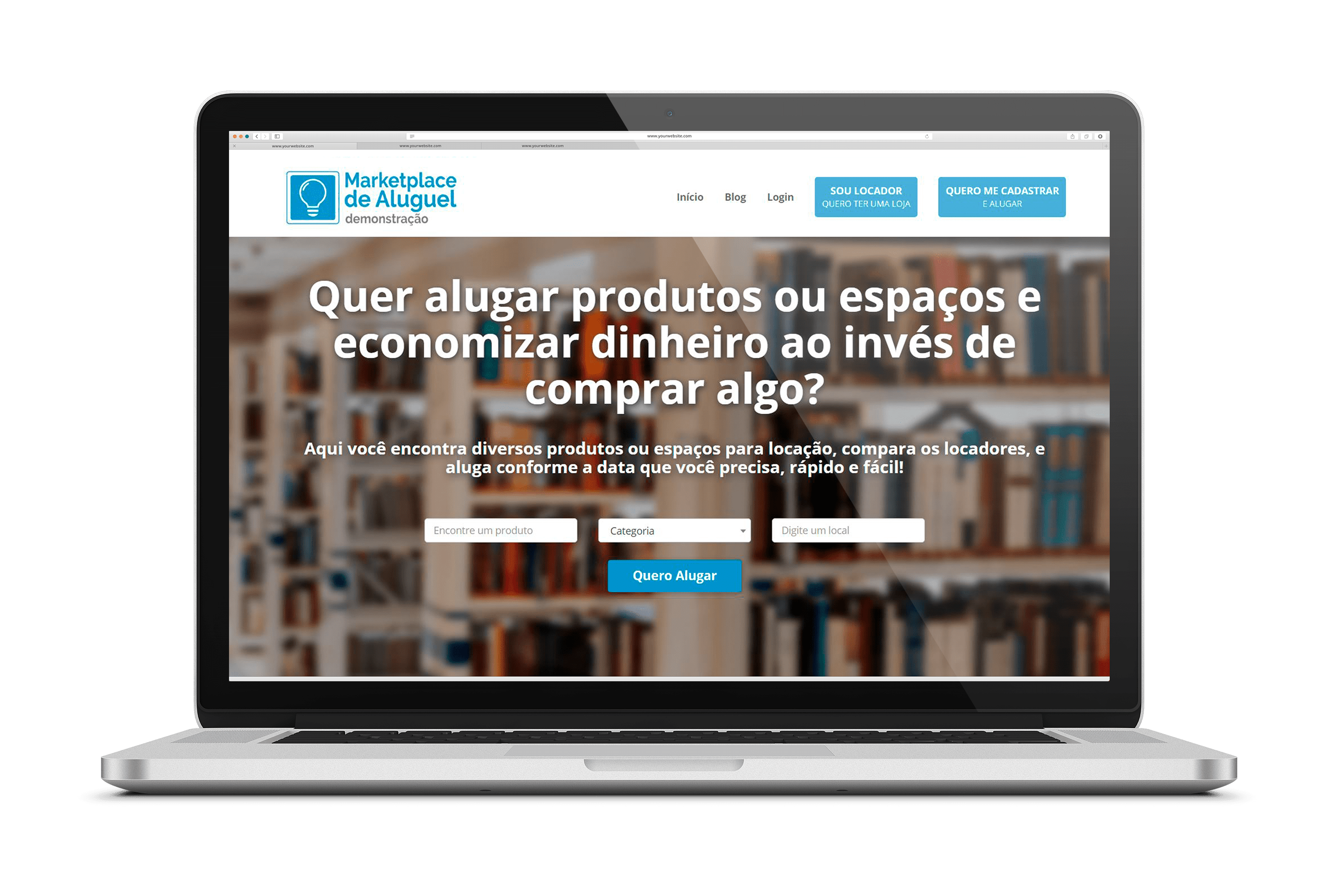 Marketplace_Aluguel