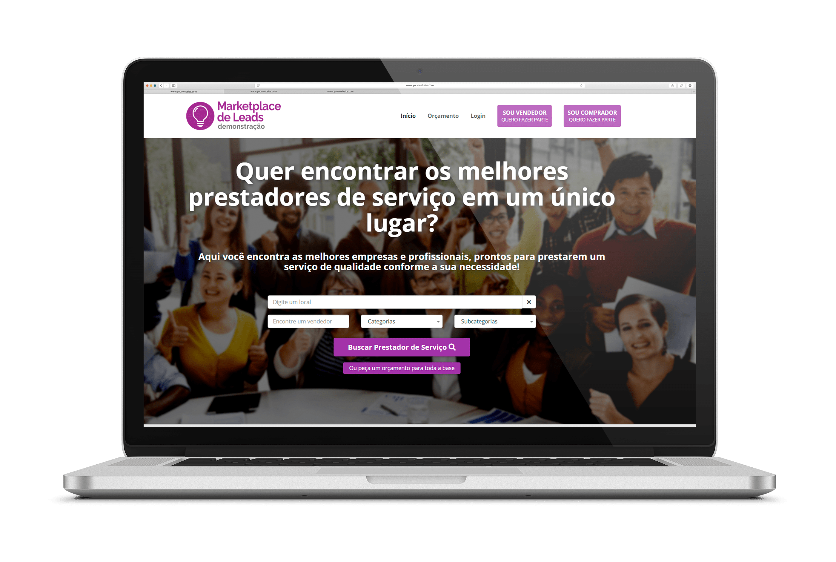 marketplace de venda de lead