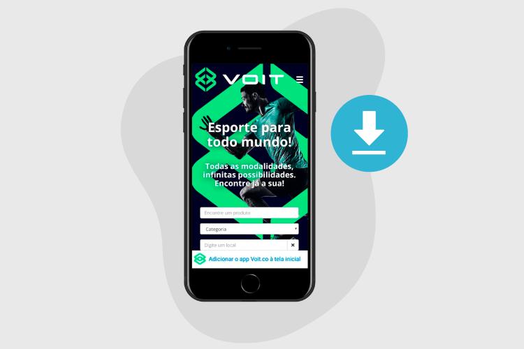 web app - pwa - voit